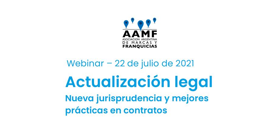 Webinar de Actualización Legal – jueves 22 de julio: Nueva jurisprudencia y mejores prácticas en contratos