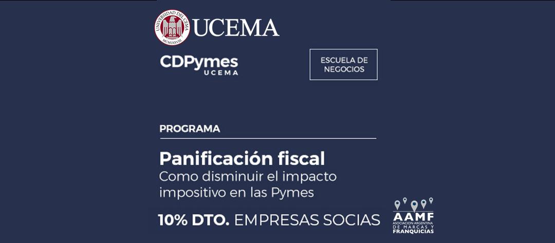 Planificación fiscal en UCEMA – Descuento para socios AAMF